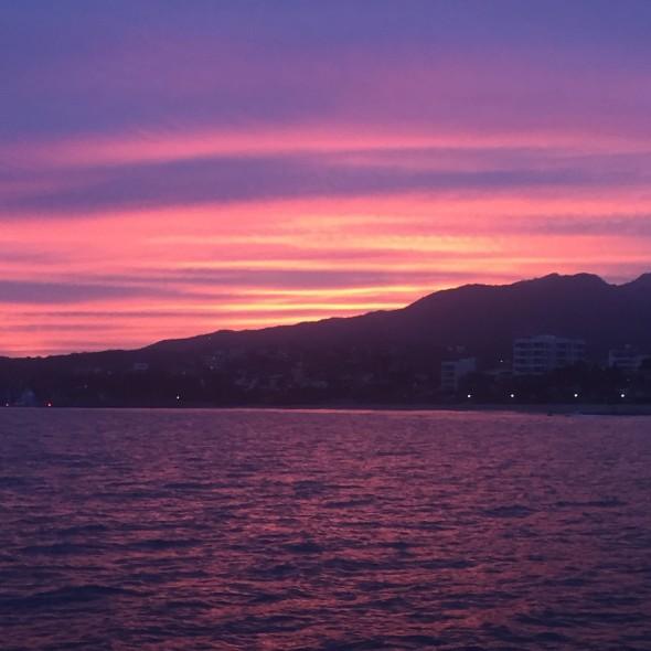 So many beautiful sunsets.